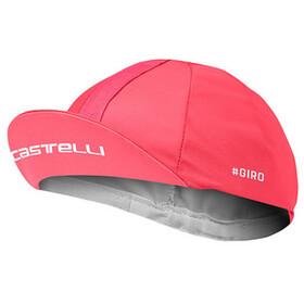 Castelli Giro d'Italia #102 Gorra de ciclismo, pink giro
